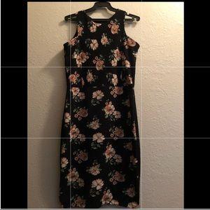 Dresses & Skirts - Beautiful Floral black dress